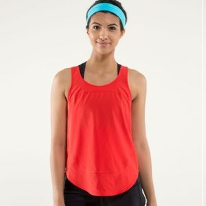 Lululemon Run: Featherweight Singlet Tank Top